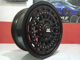 Velg Mobil HSR MYTH08 Ring 17 Lebar 7.5 Baut 6 For Pajero Fortuner Dll