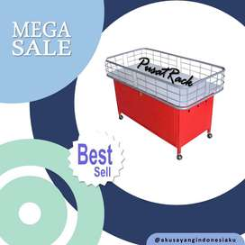 Rak Obral Merah Supermarket/ Minimarket/ Gondola
