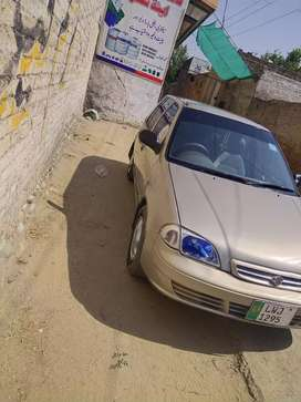 Suzuki Cultus 2006 model golden colour Lahore REG