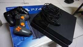 PS4 Fat 500 GB 2 Stick
