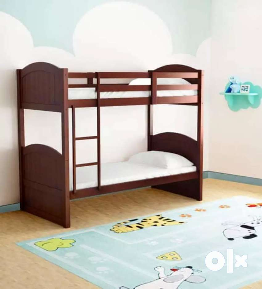 McXander Bunk Bed in Walnut Finish by Mollycoddle 0
