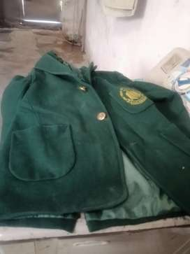 Army public school coat and brown sweeter