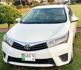 Toyota corolla XLI Get your on car in just 20% Down payment pe