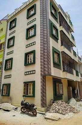 2 BHK Semi Furnished Flat for rent in Rk Hegde Nagar for ₹15000, Banga