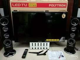 Tv led Polytron 32 speaker tower