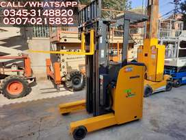 Battery Operated Reach Truck Forklift / Fork Lifter for Sale & Rent