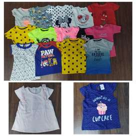 Kids Export Surplus Summer Boys Girls Tshirt Frocks	v092
