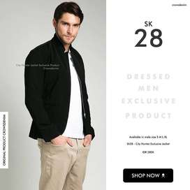 Jasket Black Simply LMH Korean Style – SK28