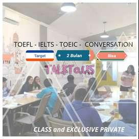 Les Privat IELTS TOEFL Conversation TOEIC Semarang