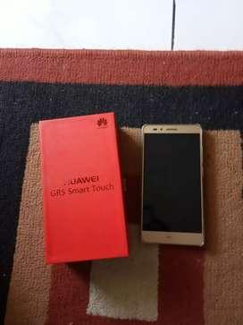 Dijual cepat Huawei gr5 warno gold fulset 2/16