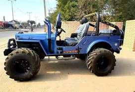 Open jeep big tyres