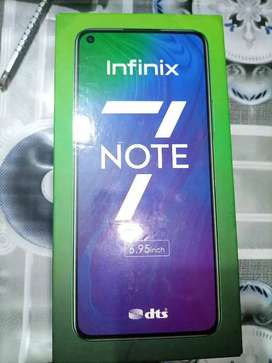 INFINIX NOTE 7 - 6/128 - ONLY 3 DAYS USED
