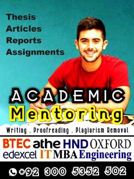 ► THESIS Proofreading HND Edexcel Btec MBA Assignment Academic Writing