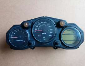 Hero Karizma parts | Tank, tail light, Back Tyre 18 MRF | Speedometer