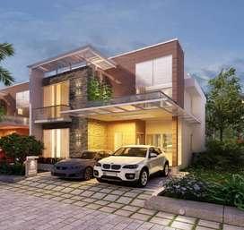 A luxury villa