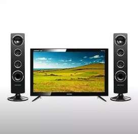 Polytron LED TV PLD-24T8511 Speaker Tower Garansi 5th
