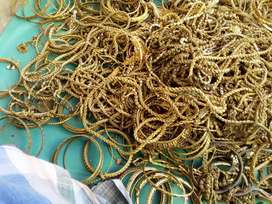 Buy wanted old scrap brass copper old chain gold couring gold plated