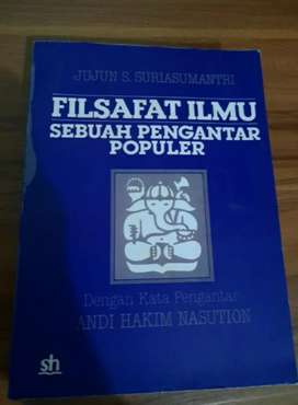 Buku filsafat karya Jujun S. Suriasumantri