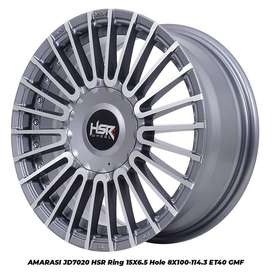 Velg Mobil Vios, Agya, Avanza dll Baru Type AMARASI JD7020 HSR R15X65