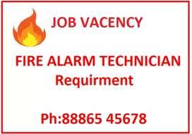 Fire alarm technician required