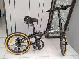 Dijual sepeda lipat BOSQUE