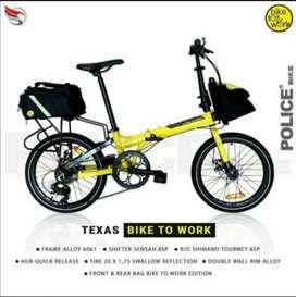 Sepeda Lipat Element Police Texas 2021 bike to work