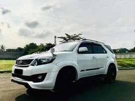 Toyota fortuner G 2.5 VNT TRD 2014 AT super white
