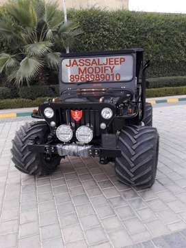 Mahindra di turbo Engine Modified JEEP JASSAL