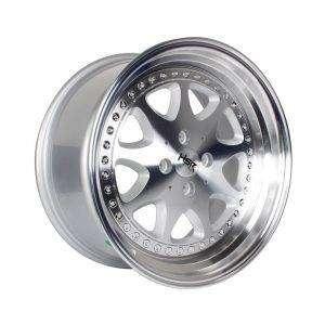 HSR-Bavaria-JD9016-Ring-17x75-85-H4x100-ET45-37-Silver-Machine-Face-Li 0