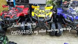 250cc hydrolick showks atv quad desert 4wheels delivery all pakistan