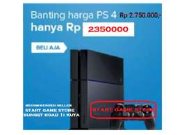 PS4 FAT FW 7.0 + 1 STIK HARGA PROMO