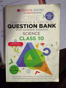 Oswaal books - science(class 10)