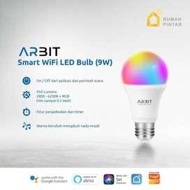 ARBIT - Smart Home Wifi LED Bulb 9W RGB + WW/CW TUYA