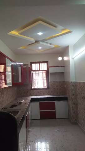 Security builder floor 3 bhk 65 lakh with car parking90%  loan provide