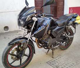 Apache RTR 160cc. In 35000 rupees only.