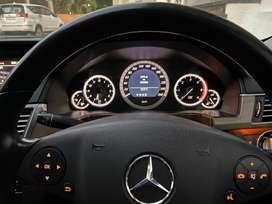 Very sparingly used Benz E class