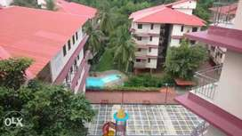 Available 2bhk Flat for sale at Gated complex cuchelim 44lacs