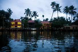 Front office manager, in lake resort @Alleppey