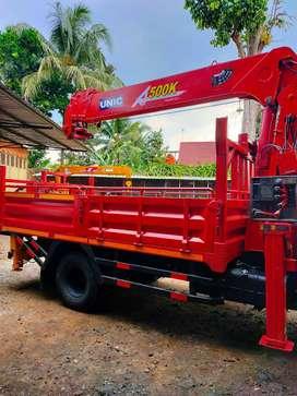 Harga Rental truck crane 5 ton Jogja Jawa Tengah dan sekitarnya