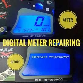 Bike digital meter