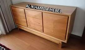 Ready Buvet Tv Minimalis Bahan Kayu Jati Monggo @651