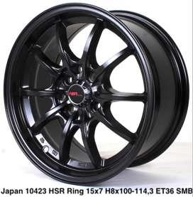 gudang velg JAPAN 10423 HSR R15X7 H8X100-114,3 ET36 SMB