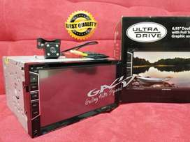 PAKET HEAD UNIT NEW ULTRADRIVE PLUS CAMERA LED CCD