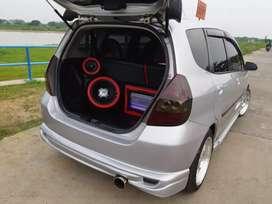 Honda jazz i-DSI  tahun 2005 full modif