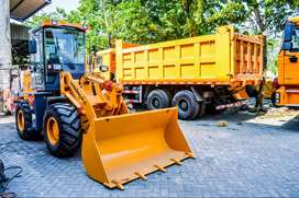 Lonking Wheel Loader Murah 1-3 m3 Power Full YTO Engine Garansi 1 Thn
