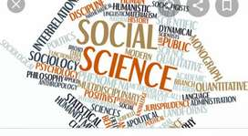Social science Tuition in paschim vihar