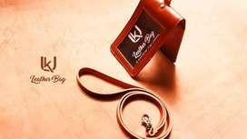 Id card / Card holder saku kulit