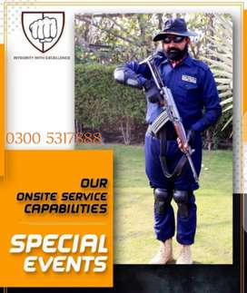 SSG commandos/security guards available