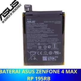 Baterai asus Zenfone 4 max | 195rb sdh sama pasang