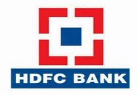 HDFC Bank job.all over india